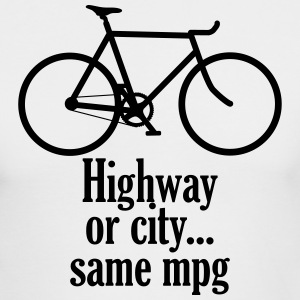 Highway or City Same MPG - Men's Long Sleeve T-Shirt by Next Level