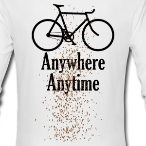 splatter Long Sleeve Shirts - Men's Long Sleeve T-Shirt by Next Level