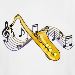Saxophone - Men's Tall T-Shirt