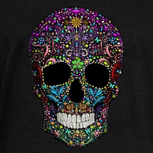Colorskull Long Sleeve Shirts - Women's Wideneck Sweatshirt