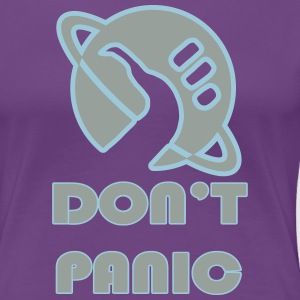 dont_panic_vectorized Women's T-Shirts - Women's Premium T-Shirt