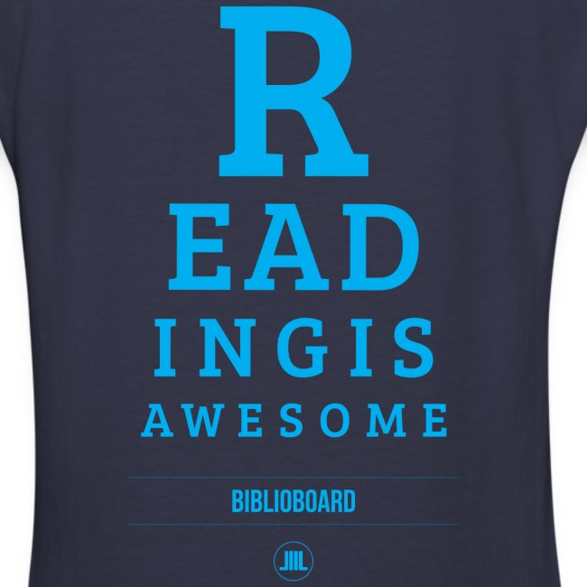 "Women's BiblioBoard ""Reading Is Awesome"" V-Neck"