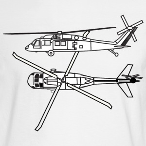 Helicopters - Men's Long Sleeve T-Shirt