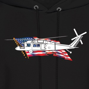 Helicopter - Men's Hoodie