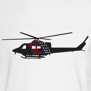 Helicopter - Men's Long Sleeve T-Shirt