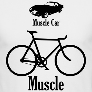 muscle car / muscle Long Sleeve Shirts - Men's Long Sleeve T-Shirt by Next Level