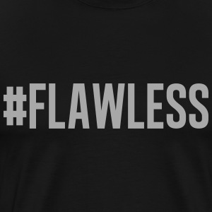 Flawless Glitter Silver - Men's Premium T-Shirt