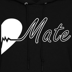 Soulmate Right couple - Women's Hoodie