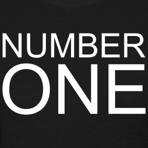 Number One Women's T-Shirts - Women's T-Shirt