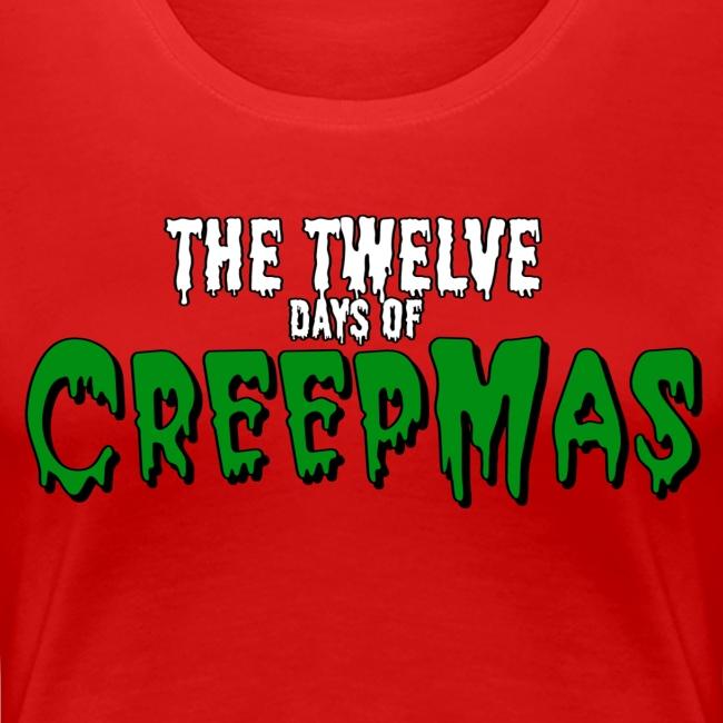 Twelve days of CREEPMAS - Red Women's