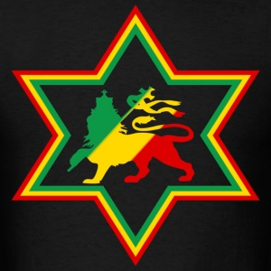 star rasta T-Shirts - Men's T-Shirt