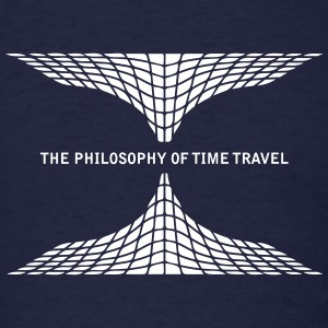 philosophy time travel T-Shirts - Men's T-Shirt