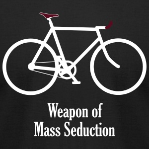 weapon of mass seduction T-Shirts - Men's T-Shirt by American Apparel