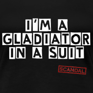 Design ~ Gladiator In A Suite   Women's T-Shirt