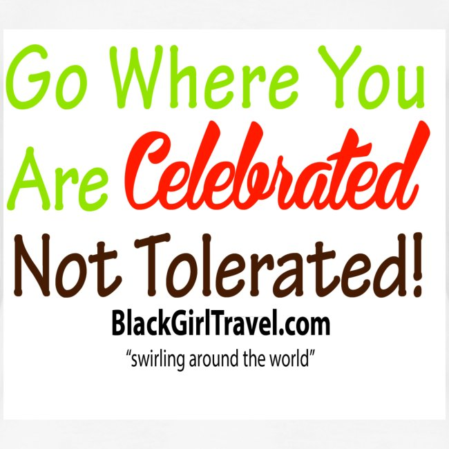 Swirling the World - Go Where You Are Celebrated
