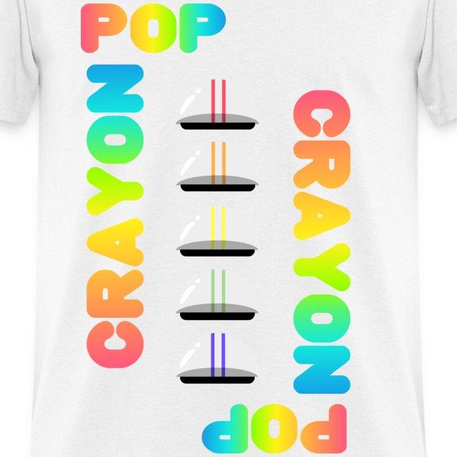 nimiman crayon pop rainbow crayon pop mens t shirt