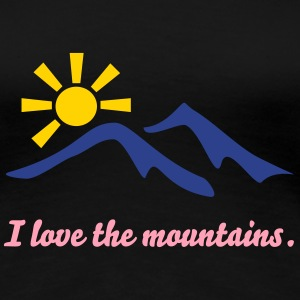 mountains Women's T-Shirts - Women's Premium T-Shirt