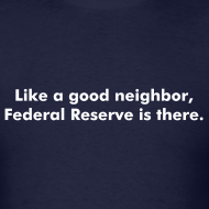Design ~ Like a good neighbor, Federal Reserve is there.