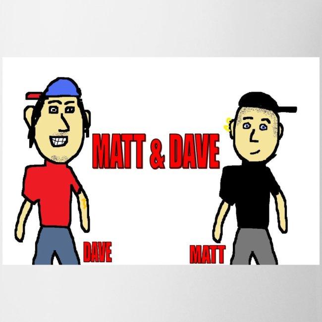 Matt and Dave - Logo Mug
