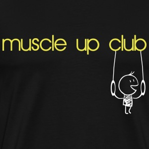 Muscle Up Club T-Shirts - Men's Premium T-Shirt