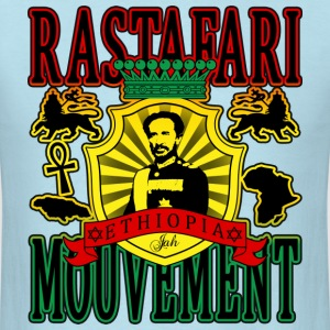 rastafari mouvement ethiopia T-Shirts - Men's T-Shirt