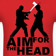 Zombie Kill Silhouette [Aim For The Head] T-Shirts