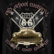 Design ~ oldschool customs Hot Rod route 66 mercury