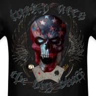Design ~ Lucky Aces Skull Gambler the big bluff tattoo