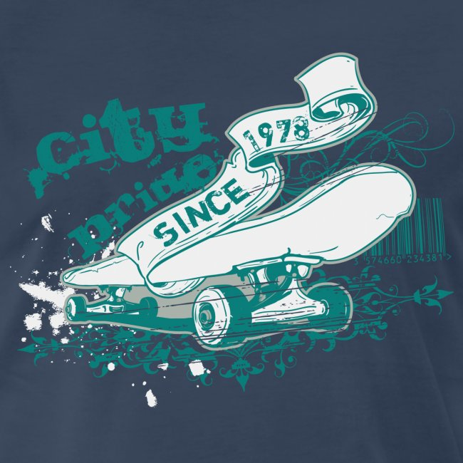 City Skateboard T-shirt