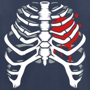A skeleton of a human thorax Baby & Toddler Shirts - Toddler Premium T-Shirt