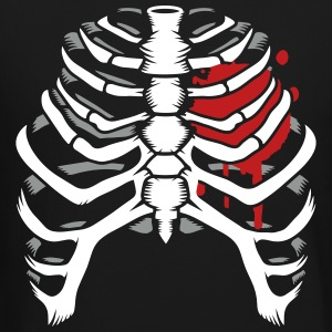 A skeleton of a human thorax Long Sleeve Shirts - Crewneck Sweatshirt