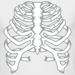 A skeleton of a human thorax Long Sleeve Shirts - Men's Long Sleeve T-Shirt by Next Level