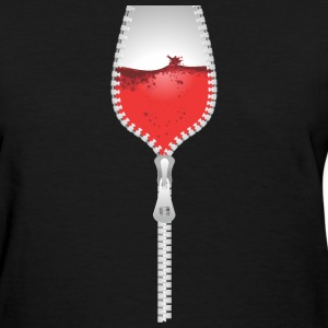 Wine Cleavage - Women's T-Shirt