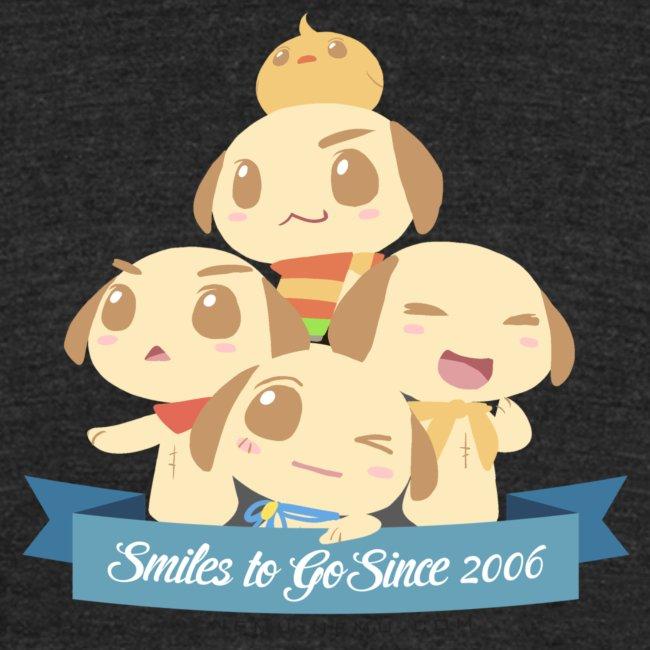 Smiles to Go - Unisex Tri-blend