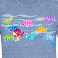 Design ~ Fishies! - Unisex Triblend