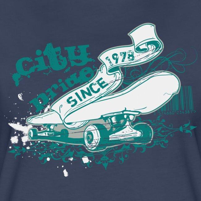 City Skateboard T-shirt