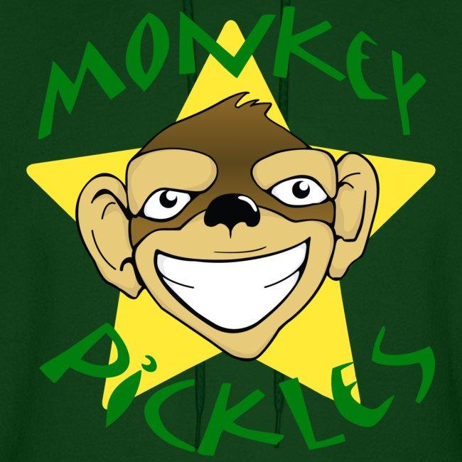 Monkey Pickles Men's Hoodie
