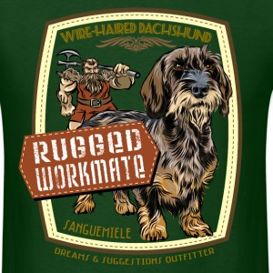 dachshund_rugged_workmate T-Shirts - Men's T-Shirt