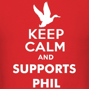 support Phil - Men's T-Shirt