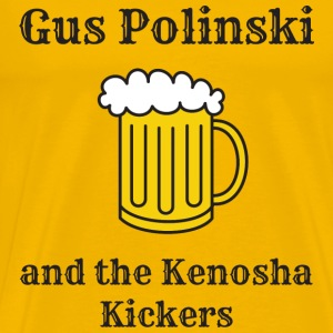 Gus Polinki Polka King of the midwest - Men's Premium T-Shirt