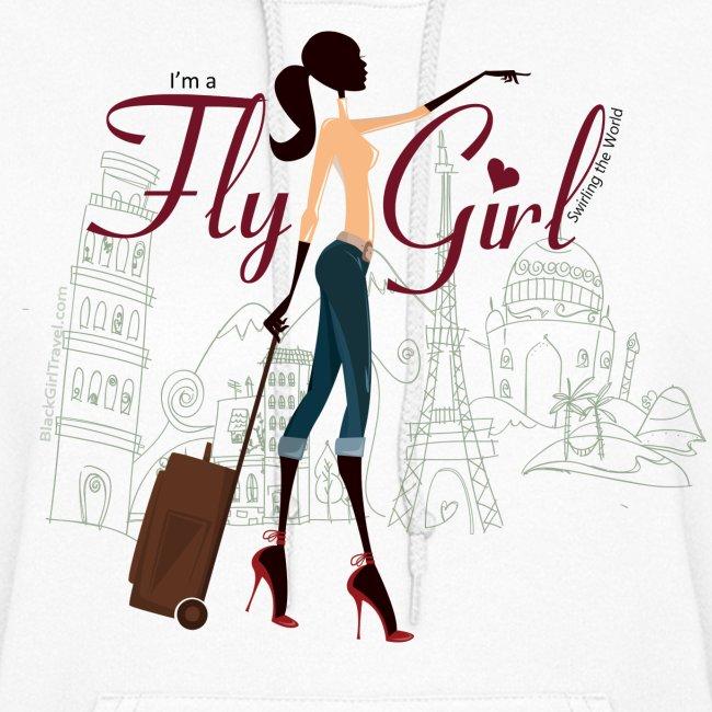 Chic FlyGirl - Heavy Hoodie