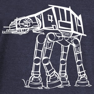 AT-AT Imperial Walker [Artist Rendering 2] Women's - Women's Wideneck Sweatshirt