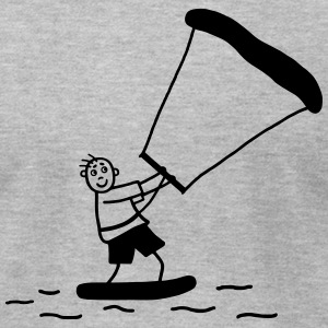 Kite surfer T-Shirts - Men's T-Shirt by American Apparel