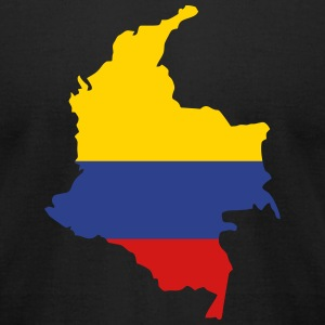 Colombia  - V3 T-Shirts - Men's T-Shirt by American Apparel