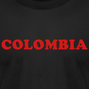 Colombia T-Shirts - Men's T-Shirt by American Apparel