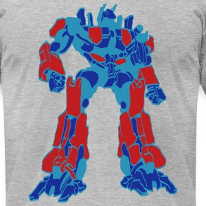 darr optimus prime T-Shirts - Men's T-Shirt by American Apparel