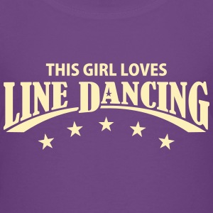 THIS GIRL LOVES LINE DANCING Kids' Shirts - Kids' Premium T-Shirt