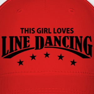 THIS GIRL LOVES LINE DANCING Caps - Baseball Cap