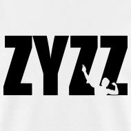 Design ~ Zyzz Pose Text Vector T-shirt