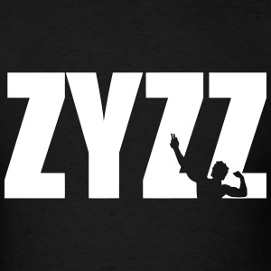 Zyzz Pose Text Vector T-shirt - Men's T-Shirt
